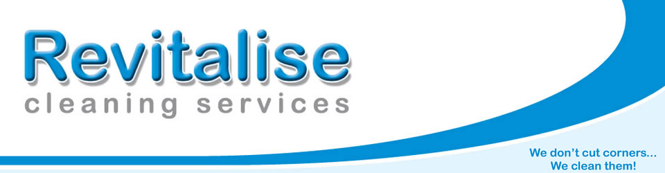 Revitalise Cleaning Services Swansea Logo
